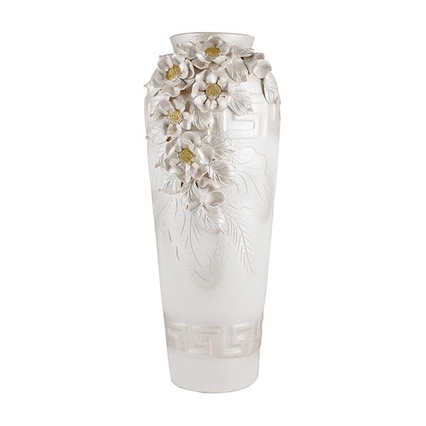 Напольная ваза Мадейра 65 см терракота
