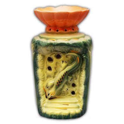 Аромалампа из керамики Геккон 15см