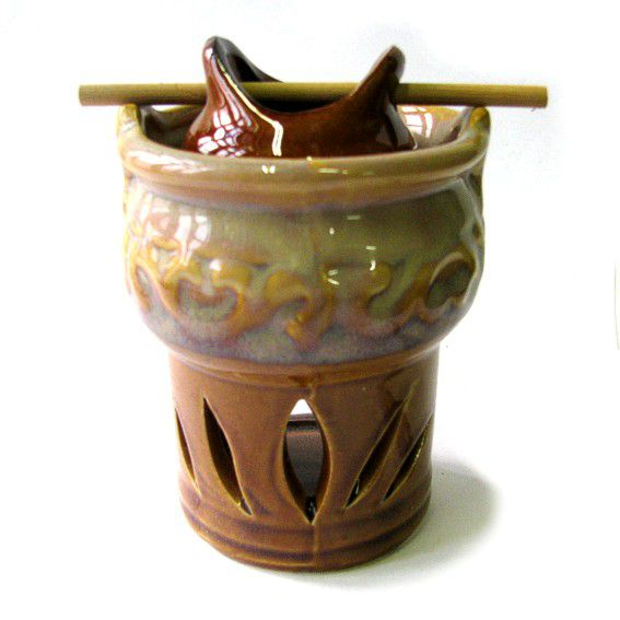 Аромалампа подвесная керамика 11см
