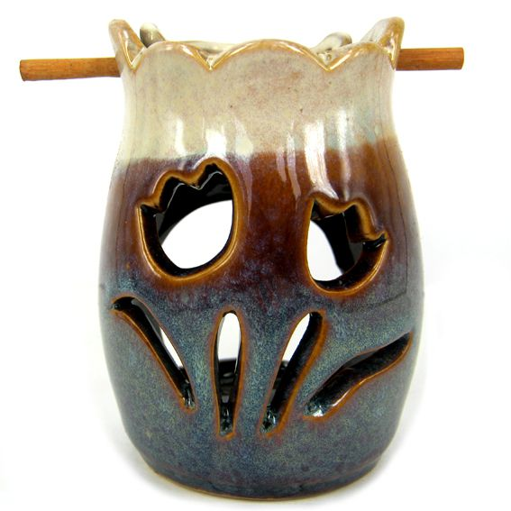 Аромалампа  подвесная Тюльпаны керамика10,5см