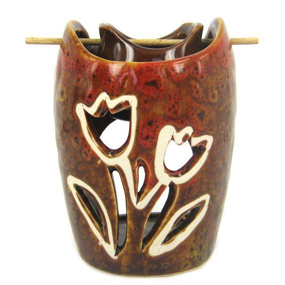 Аромалампа  подвесная Букет керамика10х7см