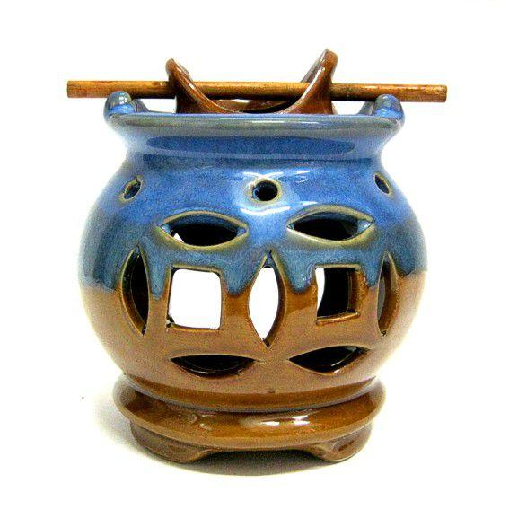 Аромалампа Монеты керамика 11см
