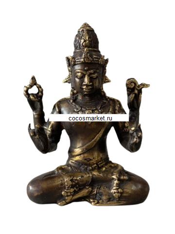 Фигура из бронзы Божество Шива 11,5см,
