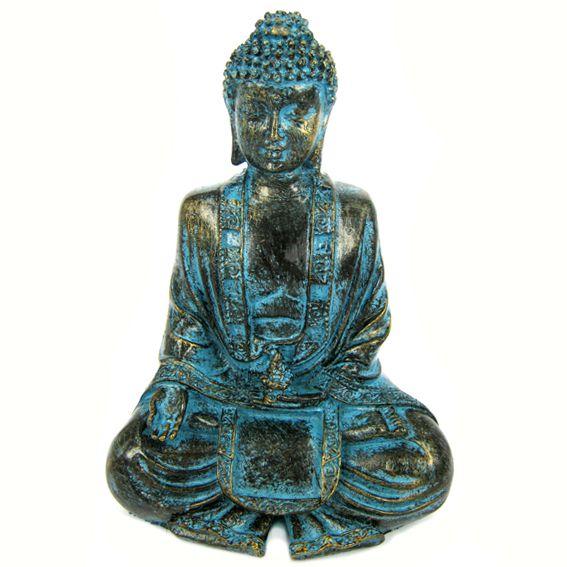 Будда фигурка, 18х12 см, полистоун