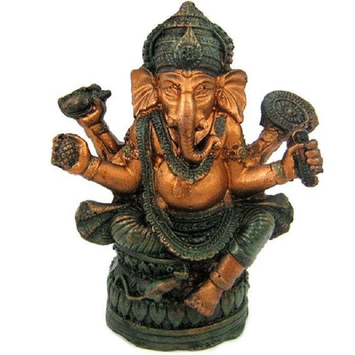 Фигура бога Ганеша 12х9,5 см