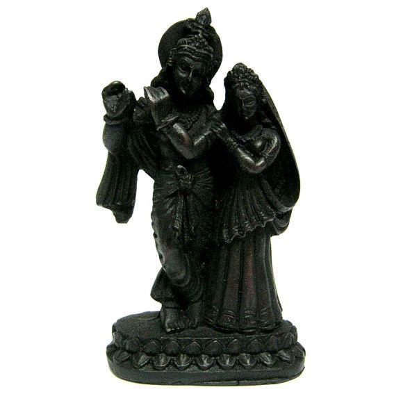 Фигура Кришна и Радха 15см пластик