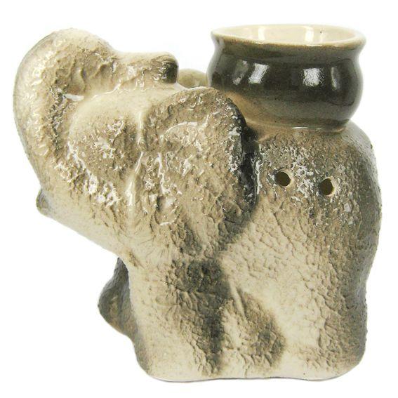 Аромалампа фигурка слона 9см
