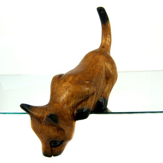 Фигурка Котик на полочке 13х4 см