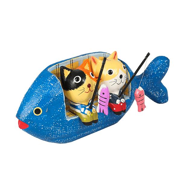 Миниатюра Рыбачки за большим трофеем 18х8