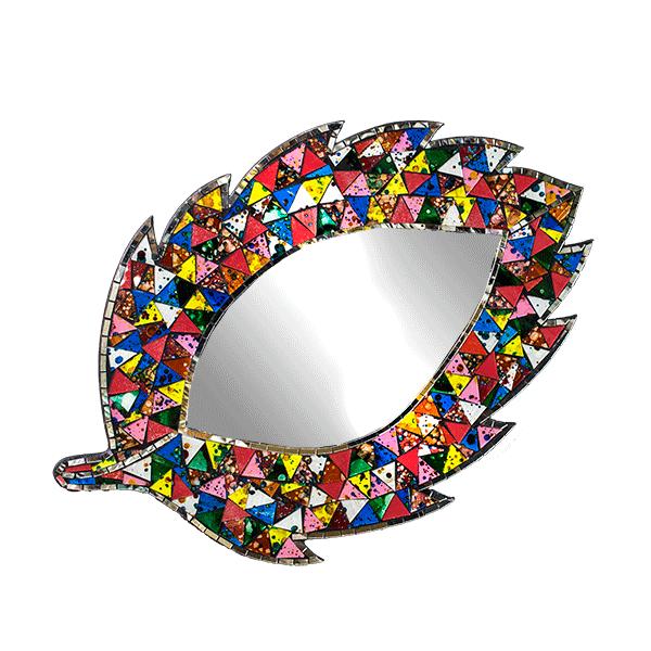 Цветной лист инкрустация мозаика 40х62 см