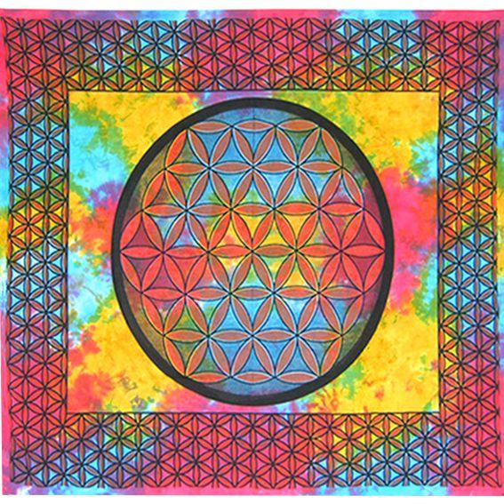 """Текстильное полотно """"Цветок жизни"""" 2,2х2м"""