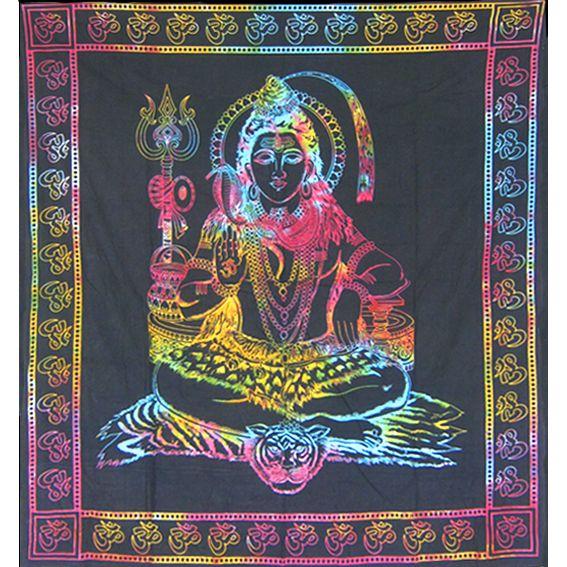 """Текстильное полотно """"Бог Шива"""" 2,2х2м"""