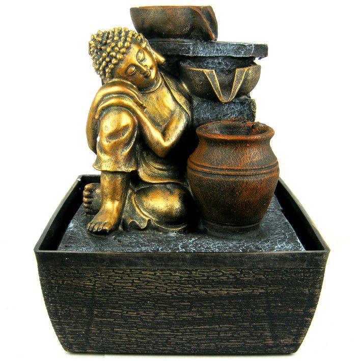 Настольный фонтан Буддизм без границ 24 см