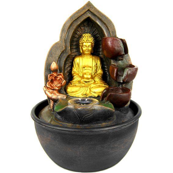 Декоративный фонтан Буддизм без границ 27 см