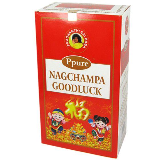 Индийские благовония Good Luck стелющийся дым пуля 12шт