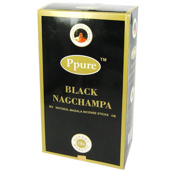 Индийские благовония Черный мак стелющийся дым пуля 12шт