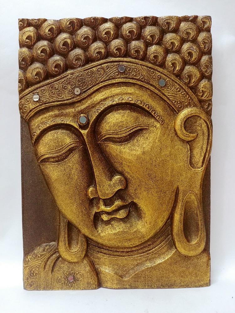 Панно декоративное в восточном стиле Будда 30х40см