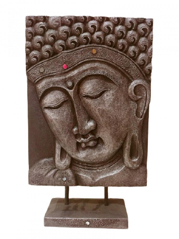 Панно настольное с изображением Будды 30х40см