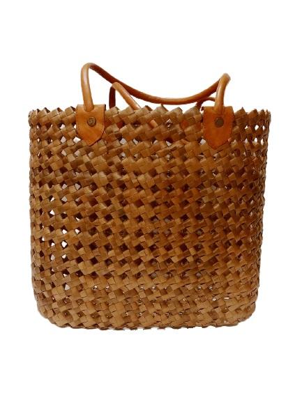Плетеная сумка из бананового волокна (L) 45х45 см