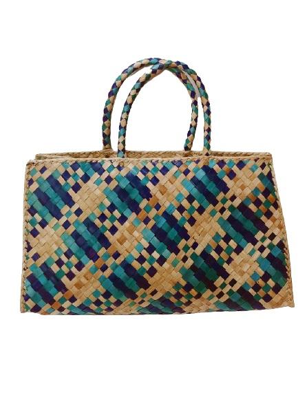 Цветная летная сумка Голубая лагуна (М)