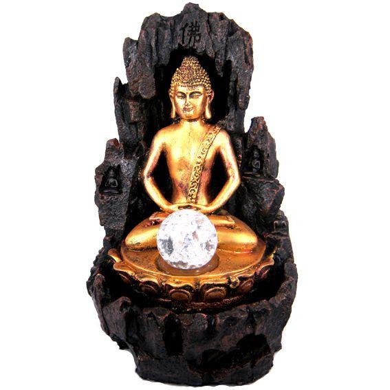 Настольный фонтан с фигурой Будды 30 см