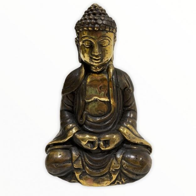 Будда Амида из бронзы 10 см