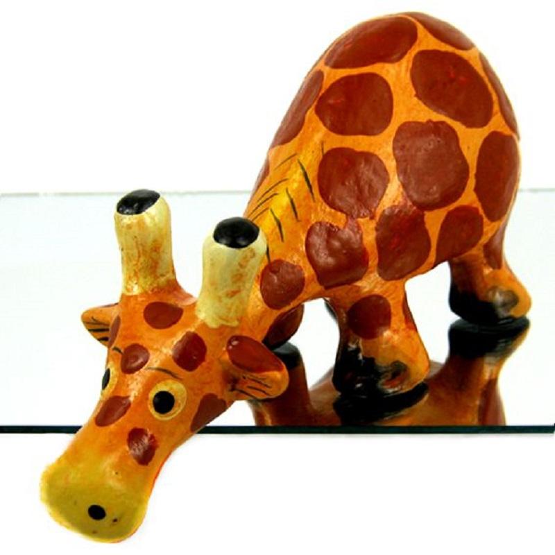Статуэтка Любопытный жираф 11х6 см