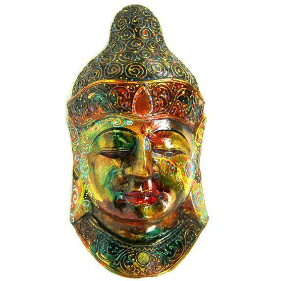 Бюст Будды 38х18 см статуэтка, дерево