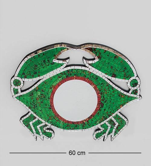 """Панно """"Краб"""" 60 cm (мозаика, о.Бали)"""