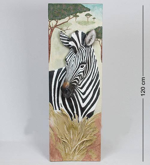 Панно Зебра высота 120 cm