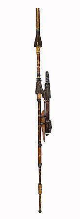 Декоративное оружие Духовая трубка 130см