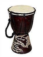Этнический инструмент барабан 25см.