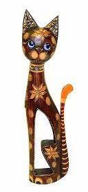Статуэтка Кошка красавица 50 см