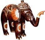 """Статуэтка """"Слон индийский Танкред"""" 30х25 см."""