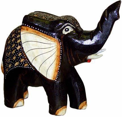 Статуэтка 'Жил был слон' 28х24см.