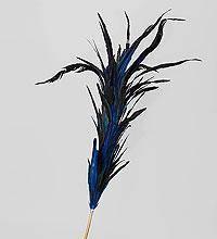 Декоративный веничек синий бриз 150 см