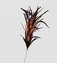 Декоративный веничек огненные языки 100 см