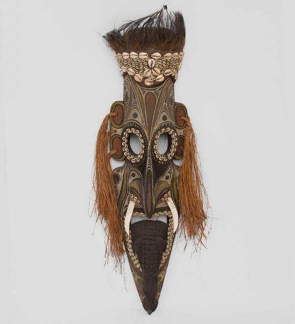 Маска аборигена (Папуа) 80 см