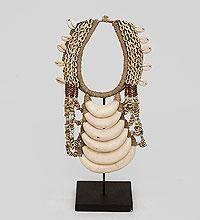 Декоративное ожерелье папуаса 40 см