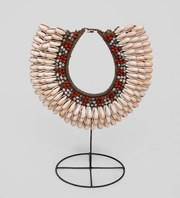 Необычное Ожерелье папуаса 40 см