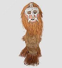 Панно Маска аборигена  (Папуа)