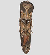 Маска Папуаса (Папуа) 110 см