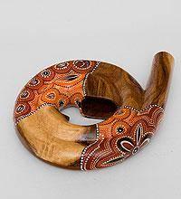Музыкальный инструмент Диджериду (красное дерево, Папуа) 35 см Indon?sia