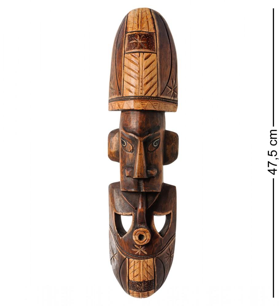 Маска Абориген с трубкой о.Суматра 50см