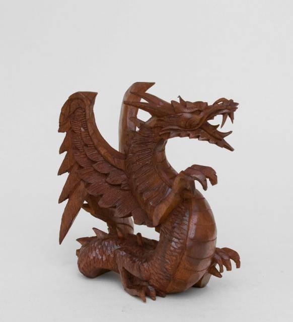 """Статуэтка """"Крылатый дракон"""" 20 см суар"""