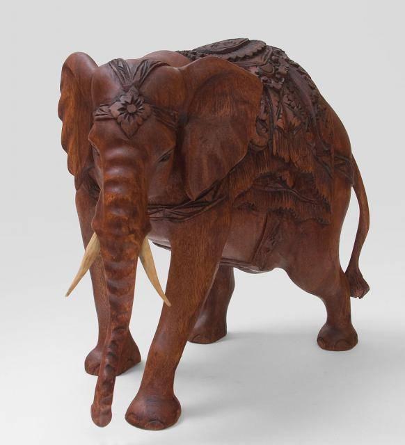 Статуэтка слона хоботом вниз 32 cm