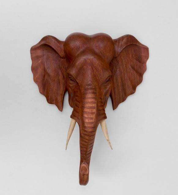 """Панно настенное """"Голова слона"""" 40 см"""