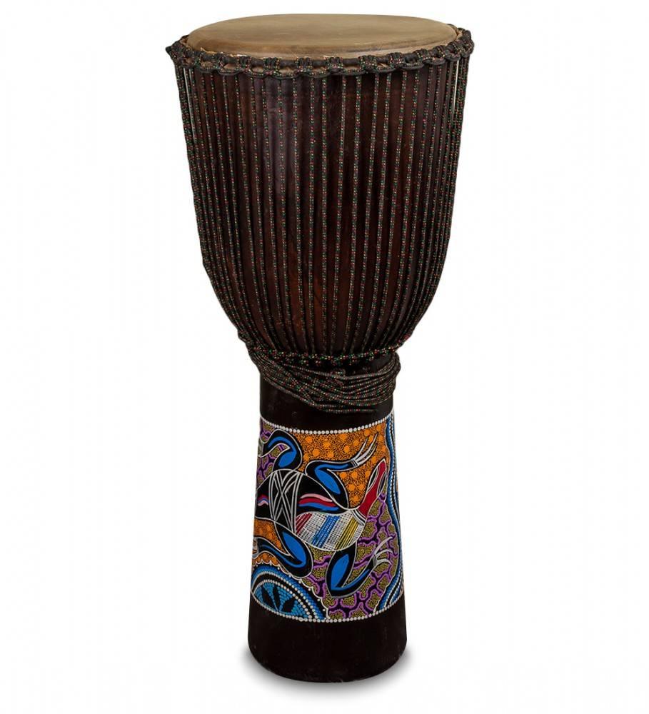 Барабан Джембе роспись 100 см