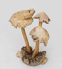 "Статуэтка ""Лягушка на грибе"" 20см"