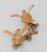 """Статуэтка """"Морские черепахи"""" 25 см"""